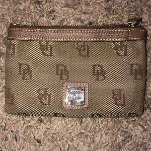 Dooney & Bourke 1975 DB print coin purse